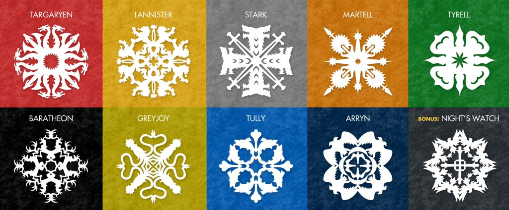 Free Snowflake Patterns Inspired By Game Of Thrones Krystal Higgins Unique Paper Snowflake Pattern