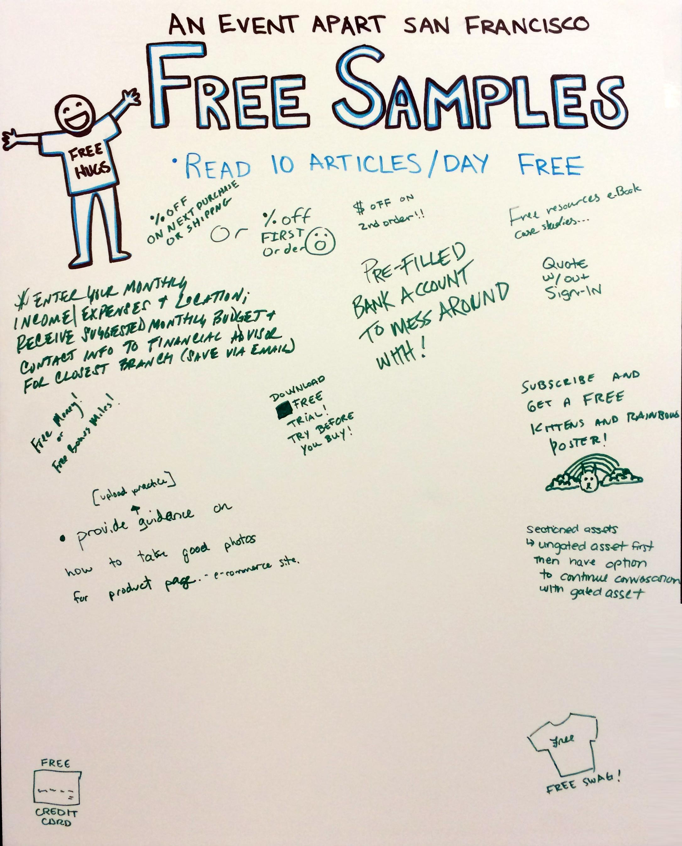 Free Sample Board from An Event Apart 2016